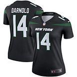 Women's Nike Sam Darnold Stealth Black New York Jets Color Rush Legend Jersey