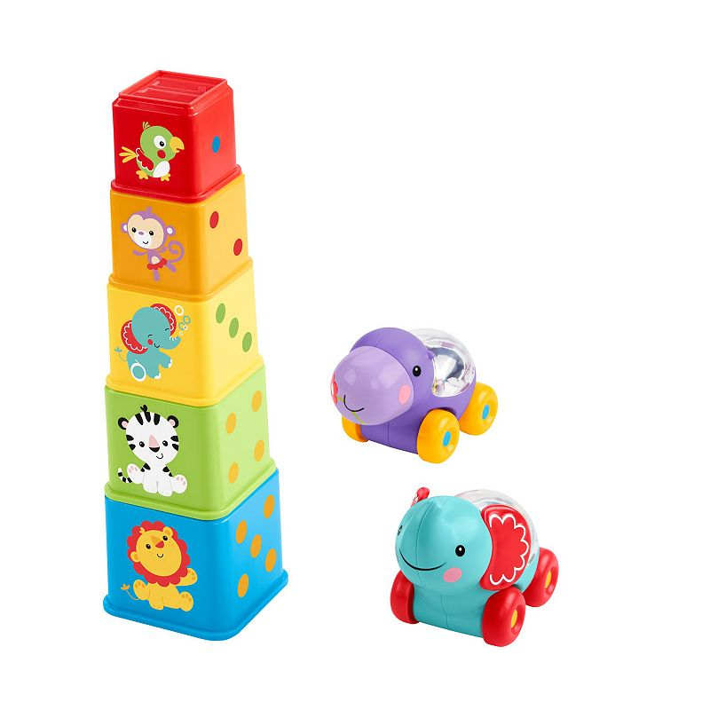 Fisher-Price Stack & Roll Activity Set