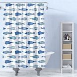 Levtex Catalina Fish Shower Curtain