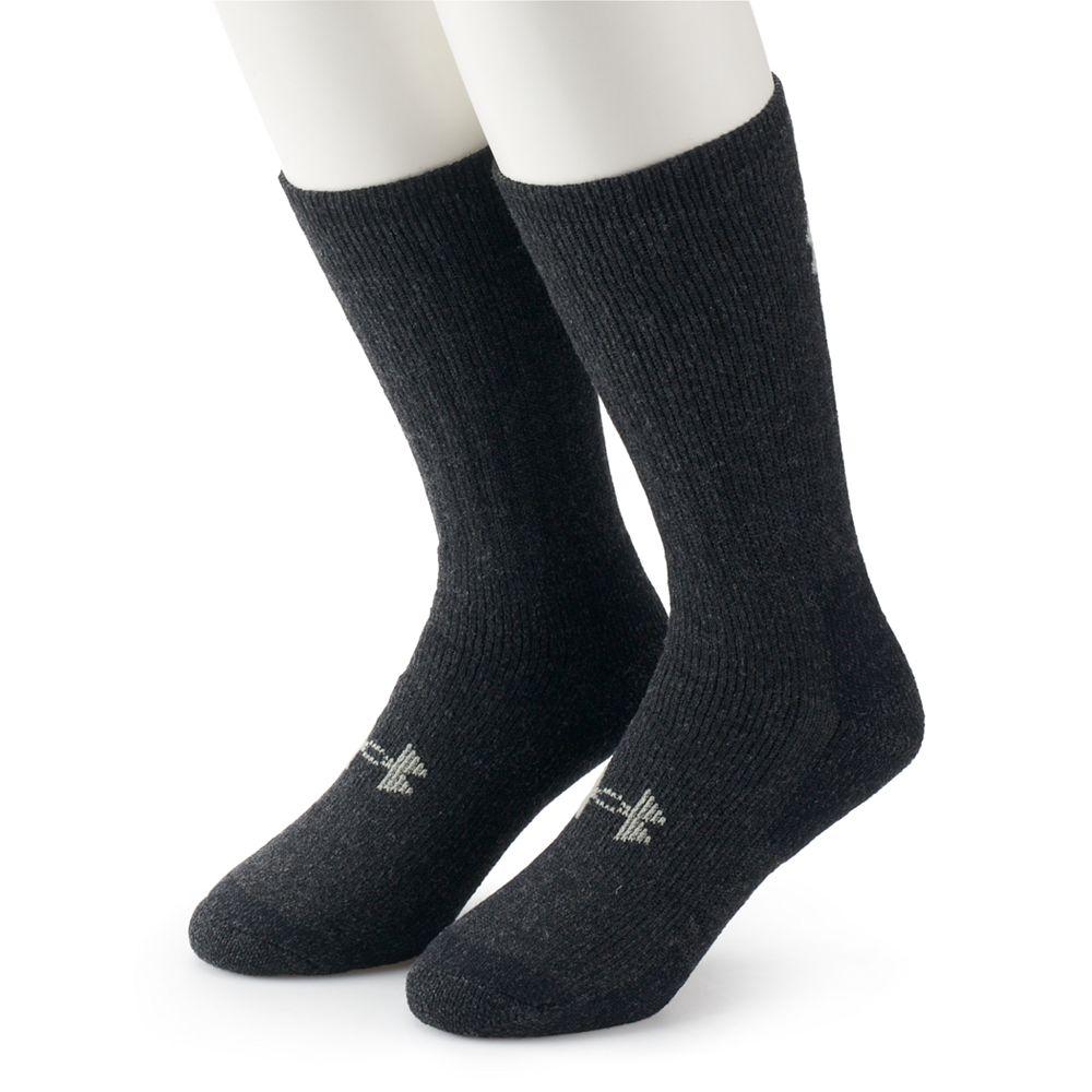 Men's Under Armour 2-pack ColdGear® Wool-Blend Outdoor Boot Socks