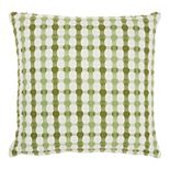 Mina Victory Life Styles Embroidered Dots Throw Pillow