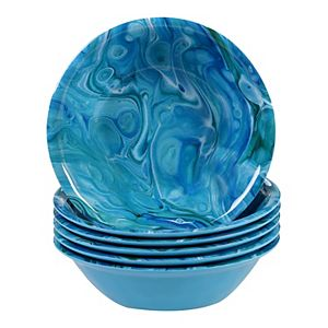 Certified International Fluidity 6-pc. Melamine All-Purpose Bowl Set