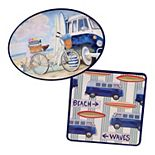 Certified International Beach Time 2-pc. Melamine Platter Set