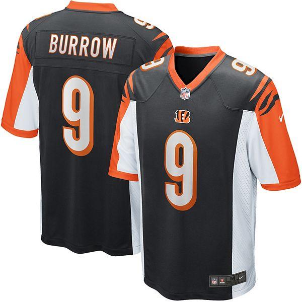 Men's Nike Cincinnati Bengals Joe Burrow Jersey