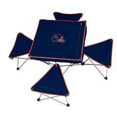 Chicago Bears Portable Folding Table & Stool Set