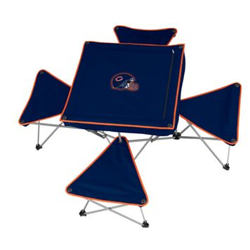 Chicago Bears Portable Folding Table & Stool Set