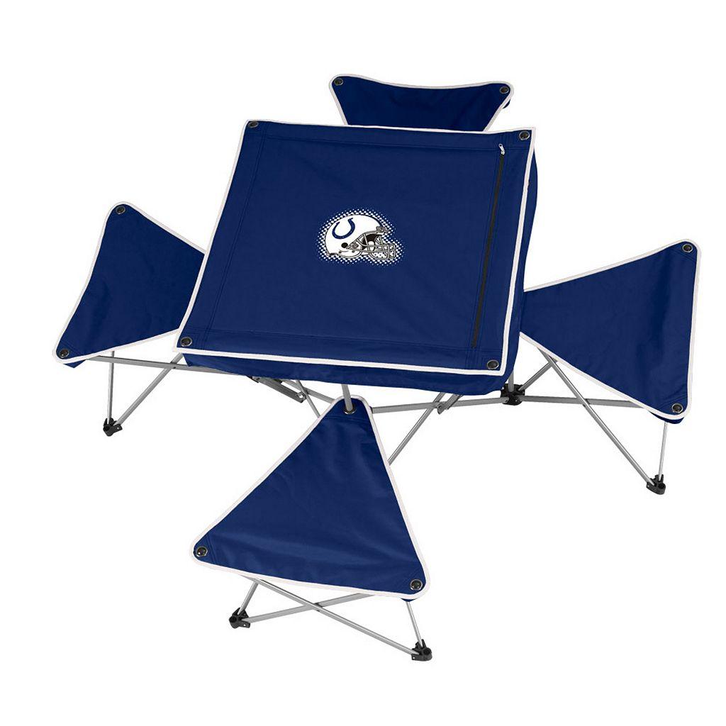 Indianapolis Colts Portable Folding Table & Stool Set