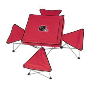 Atlanta Falcons Portable Folding Table and Stool Set