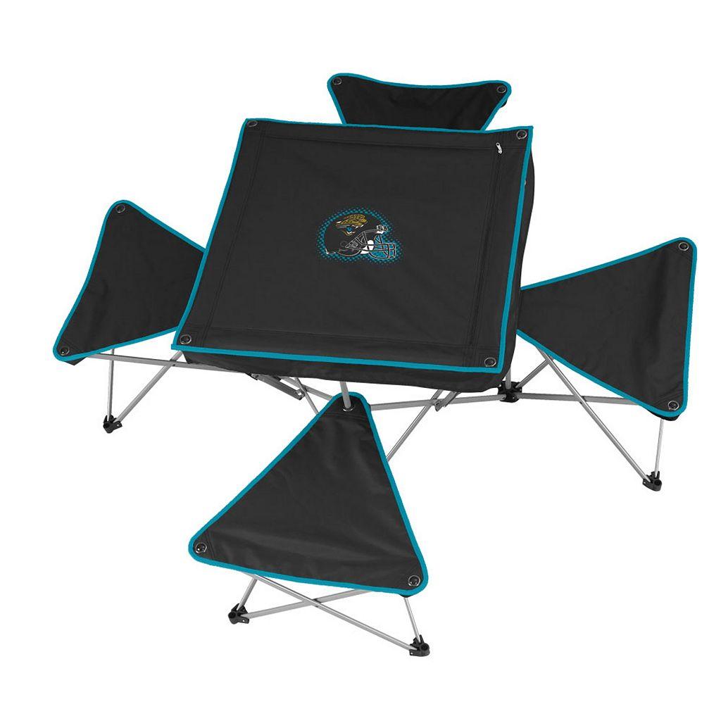 Jacksonville Jaguars Portable Folding Table & Stool Set
