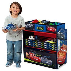 Disney Pixar's Cars 6-Bin Toy Organizer by Delta Children