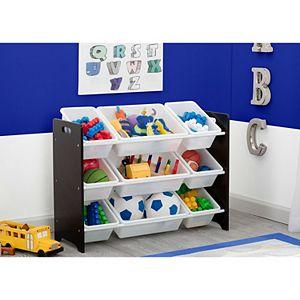 Disney Pixar's MySize 9-Bin Plastic Toy Organizer by Delta Children