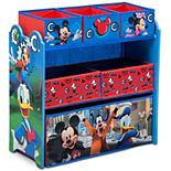 Disney's Mickey Mouse 6-Bin Toy Organizer by Delta Children