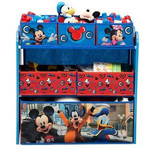 Disney's Mickey Mouse 6-Bin Toy Organizer by Delta Children