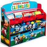 Disney's Mickey Mouse Deluxe Book and Toy Organizer by Delta Children