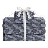 Sonoma Goods For Life® 6-pack Hygro Ikat Towel Set