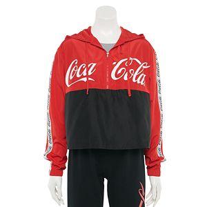 Juniors' Coca-Cola Windbreaker