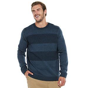 Big & Tall Urban Pipeline? Regular-Fit Colorblock Crewneck Sweater