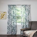 Silk+Home Lakeview 2-pack Window Curtains