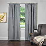 Silk+Home Teafly 2-pack Window Curtains