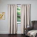 Silk+Home Calcrt 2-pack Window Curtains