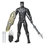 Marvel Avengers Titan Hero Series Blast Gear Deluxe Black Panther Action Figure