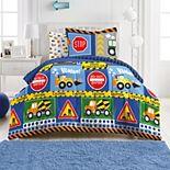 Dream Factory Under Construction 7-piece Comforter Set and Sheet Set