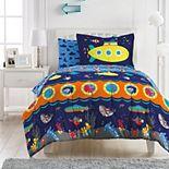 Dream Factory Submarine 7-piece Comforter Set and Sheet Set