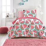 Dream Factory Watermelon Jam 7-piece Comforter Set and Sheet Set