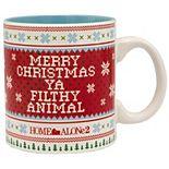 Home Alone Filthy Animal Sweater Pattern Coffee Mug