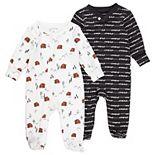 Baby Boy Mac & Moon 2-Pack Buffalo Sleep & Plays