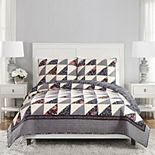 Vera Bradley Foxwood Flying Geese Quilt Set