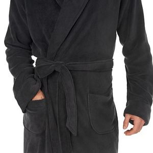 Big & Tall Chaps Solid Comfort Robe