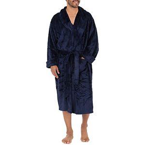Big & Tall Chaps Twill Comfort Soft Robe
