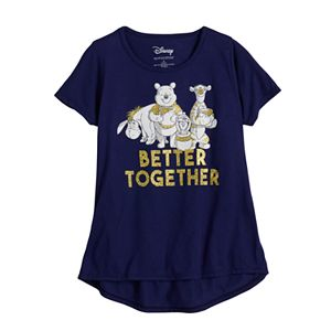 "Disney's Winnie the Pooh Girls 7-16 ""Better Together"" Graphic Tee"