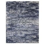 Avenue 33 Chaise Kobuk Blue Shag Rug