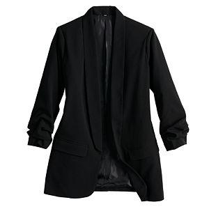Juniors' Candie's® Oversized Menswear Blazer