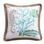 Levtex Calafel Coastal Throw Pillow