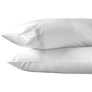 AllerEase Hot Water Wash Medium Pillow with Pillow Protector