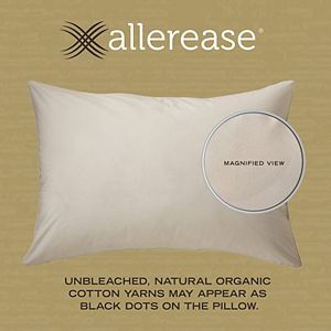 AllerEase Organic Pillow with Pillow Protector