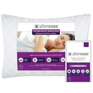 AllerEase Ultimate Pillow with Pillow Protector