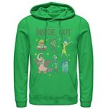 Men's Disney / Pixar Inside Out How Are You Feeling Group Shot Hoodie