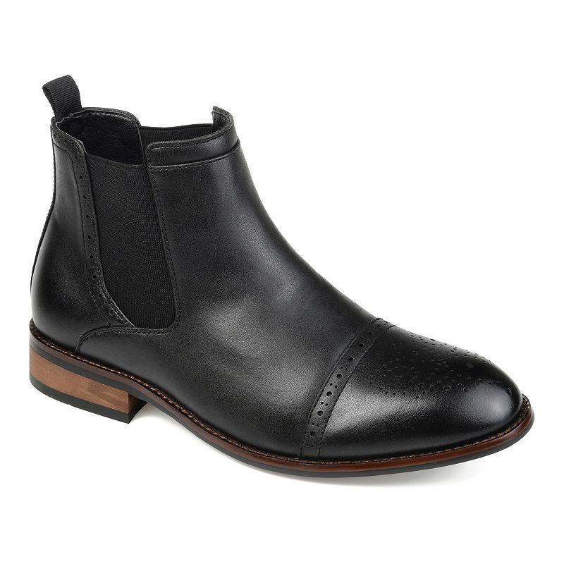 Vance Co. Garrett Men's Chelsea Boots, Size: Medium (8), Black