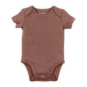 Baby Girl Mac & Moon 5-Pack Solid Short Sleeve Bodysuits Set