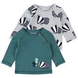 Baby Boy Mac & Moon 2-Pack Badger Tops Set