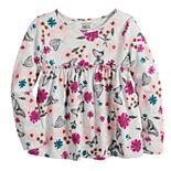 Toddler Girl Jumping Beans® Long-Sleeve Babydoll Top