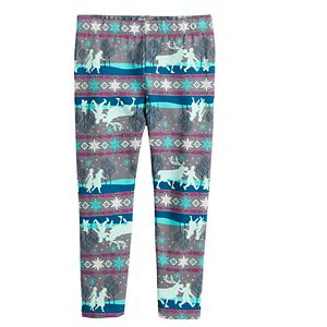 Disney's Frozen Toddler Girl Cozy Fleece Leggings by Jumping Beans®