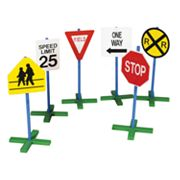 Guidecraft Drive-Time 6-pc. Road Sign Set