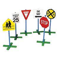 Guidecraft Drive-Time 6 pc Sign Set