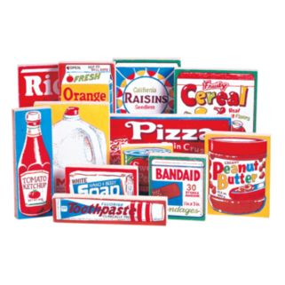 Guidecraft 12-pc. Grocery Store Food Set