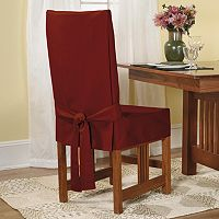 Sure Fit™ Short Dining Chair Slipcover